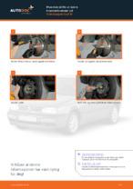 JP GROUP 1164300170 til VW   PDF manual for bytte