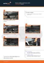 Kuinka vaihtaa sisäilmansuodatin AUDI A4 В5 malliin