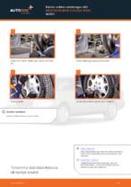 Automekaanikon suositukset MERCEDES-BENZ W202 Mercedes C 250 2.5 Turbo Diesel (202.128) -auton Jarrulevyt-osien vaihdosta
