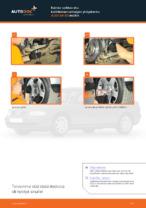 Kuinka vaihtaa etu-kallistuksenvakaajan yhdystanko AUDI A4 В5 malliin