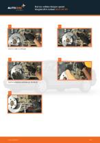 Kuinka vaihtaa takajarrupalat levyjarruihin autoon AUDI A4 В5