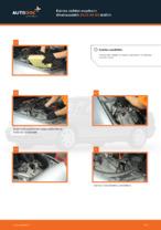 Kuinka vaihtaa moottorin ilmansuodatin AUDI A4 В5 malliin
