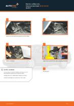 Kuinka vaihtaa etu-iskunvaimentimet AUDI A4 В5 malliin