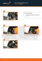 Kuinka vaihtaa raidetangon pää AUDI A4 В5 malliin
