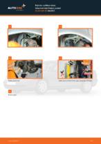 Kuinka vaihtaa taka-iskunvaimentimen jouset AUDI A4 В5 malliin