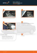 Kuinka vaihtaa etu-iskunvaimentimen jouset AUDI A4 В5 malliin