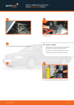 Kuinka vaihtaa etu-joustintuen laakeri AUDI A4 В5 malliin