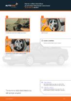 Kuinka vaihtaa itsenäisen jousituksen takapuolen alatukivarsi AUDI A4 В5 malliin