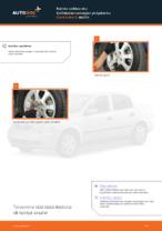 Kuinka vaihtaa etu-kallistuksenvakaajan yhdystanko Opel Astra G malliin