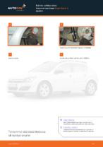Kuinka vaihtaa taka-iskunvaimentimet Opel Astra H malliin
