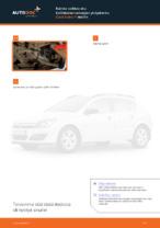 Kuinka vaihtaa etu-kallistuksenvakaajan yhdystanko Opel Astra H malliin