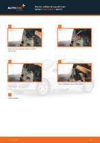 Kuinka vaihtaa etu-joustintuen laakeri Opel Astra H malliin
