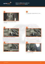 Kuinka vaihtaa etu-joustintuen laakeri BMW 5 E60 malliin