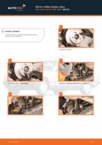 MERCEDES-BENZ 190 Etujarrulevyt ja takajarrulevyt vaihto: ilmainen pdf