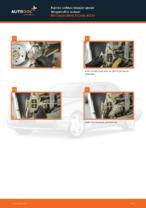 Kuinka vaihtaa takajarrupalat levyjarruihin autoon Mercedes-Benz E-Class W210