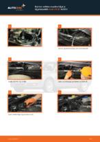 Kuinka vaihtaa moottoriöljyt ja öljynsuodatin Audi A4 В7 malliin