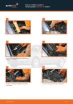 Kuinka vaihtaa moottorin ilmansuodatin Audi A4 В7 malliin