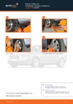 Kuinka vaihtaa etu-kallistuksenvakaajan yhdystanko Audi A4 В7 malliin