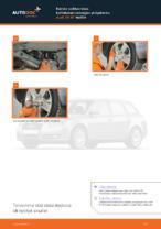 Kuinka vaihtaa taka-kallistuksenvakaajan yhdystanko Audi A4 В7 malliin