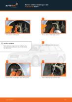 Kuinka vaihtaa raidetangon pää Audi A4 В7 malliin