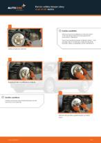 Kuinka vaihtaa takajarrulevy Audi A4 В7 malliin