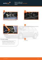 Kuinka vaihtaa etu-iskunvaimentimet Audi A4 В7 malliin
