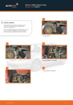 MAZDA 3 (BK) Tanko kallistuksenvaimennin asennus - vaihe vaiheelta korjausohjeet