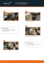 Kuinka vaihtaa takajarrulevy Volkswagen T5 malliin