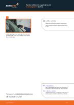 VW TRANSPORTER Pyyhkijänsulat vaihto: ohjekirja
