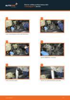 Ilmaiset ohjeet verkossa kuinka vaihtaa Polttoainesuodatin VW TRANSPORTER V Platform/Chassis (7JD, 7JE, 7JL, 7JY, 7JZ, 7FD