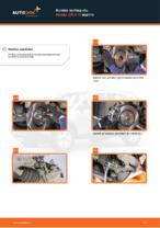 Vaiheittainen PDF-opas: kuinka vaihtaa HONDA CR-V III (RE) -mallin Ilmansuodatin