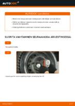 Automekaanikon suositukset FIAT Fiat Punto 188 1.2 16V 80 -auton Jousijalan Tukilaakeri-osien vaihdosta