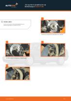 Jak wymienić przednią tarczę hamulcową w AUDI A4 В5
