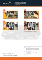 Jak wymienić drążek/linkę przedniego stabilizatora w AUDI A4 В5