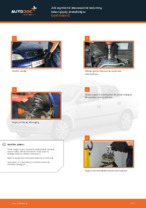Jak wymienić mocowanie kolumny resorującej przedniej w Opel Astra G