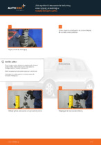 Samodzielna wymiana Podstawa amortyzatora przednie i tylne VW - online instrukcje pdf