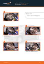 Darmowe instrukcje online jak odnowić Zestaw naprawczy, przegub nożny / prowadzący CITROËN C3 I (FC_)