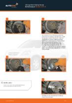 Darmowe instrukcje online jak odnowić Tarcze hamulcowe HONDA CR-V II (RD_)