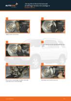 Darmowe instrukcje online jak odnowić Zestaw klocków hamulcowych HONDA CR-V II (RD_)