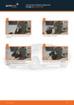 Jak wymienić Drążek wspornik stabilizator przednie lewy MAZDA FAMILIA V (BA) - instrukcje online