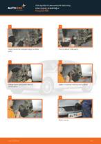 Wymiana Łożysko amortyzatora: pdf instrukcje do PEUGEOT 406
