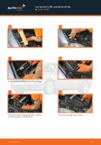 Jak wymienić filtr powietrza silnika w Audi A4 В7