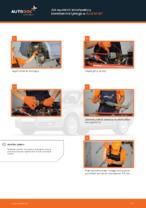 Jak wymienić amortyzatory zawieszernia tylnego w Audi A4 В7