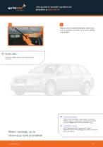 Jak wymienić szczotki wycieraczki przednie w Audi A4 В7