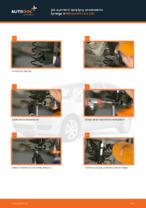 Darmowe instrukcje online jak odnowić Sprężyna amortyzatora MITSUBISHI COLT VI (Z3_A, Z2_A)
