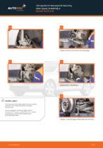 Samodzielna wymiana Podstawa amortyzatora przednie i tylne SKODA - online instrukcje pdf