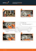 Wymiana Tarcza hamulcowa AUDI 80: instrukcja napraw