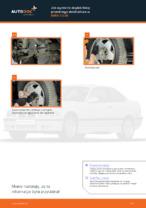 Jak wymienić drążek/linkę przedniego stabilizatora w BMW 3 E36