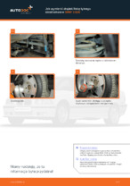 Jak wymienić drążek/linkę tylnego stabilizatora w BMW 3 E36
