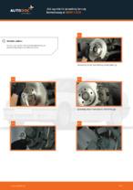Jak wymienić przednią tarczę hamulcową w BMW 3 E36